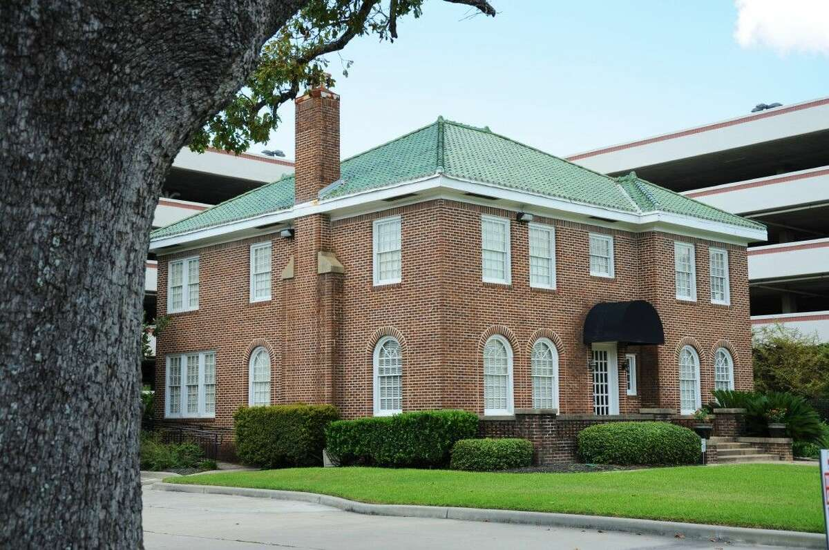 """The Falvey-Miller House as it stands today at the corner of Phillips and Main streets in downtown Conroe. Today it currently houses the law offices of Conroe attorney Jo Miller. """"We kept as many original architectural details and fixtures as possible,"""" said Miller."""