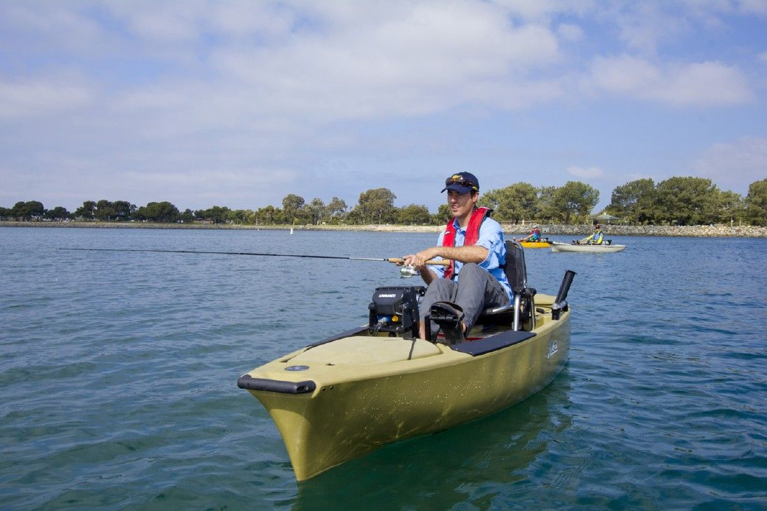 Safety a must for paddle boats the courier for Fishing paddle boats