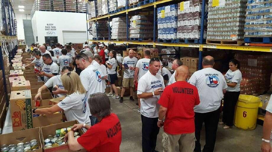 Silver Eagle Distributors Bud Light Houston Give Back To