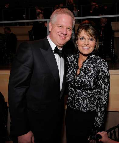 NEW YORK - MAY 04:  Glenn Beck and Sarah Palin attend Time's 100 most influential people in the world gala at Frederick P. Rose Hall, Jazz at Lincoln Center on May 4, 2010 in New York City.  (Photo by Jemal Countess/Getty Images for Time Inc) *** Local Caption *** Glenn Beck;Sarah Palin Photo: Jemal Countess, Getty Images For Time Inc / 2010 Getty Images
