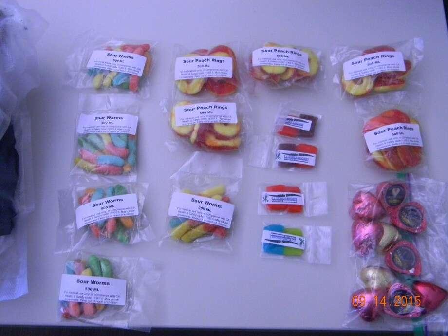 Examples of edible marijuana products Marijuana CandySome edible marijuana is packaged to look like candy.