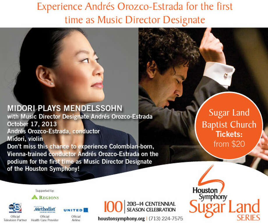 Houston Symphony to perform in Sugar Land