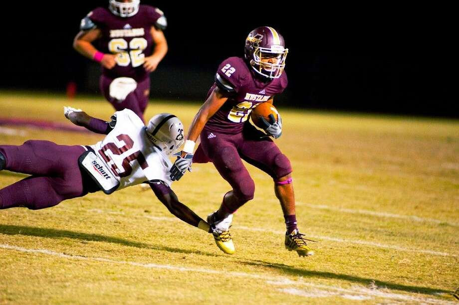 Magnolia West running back Adrian Thomas and the rest of the Mustangs will face Houston Madison tonight.