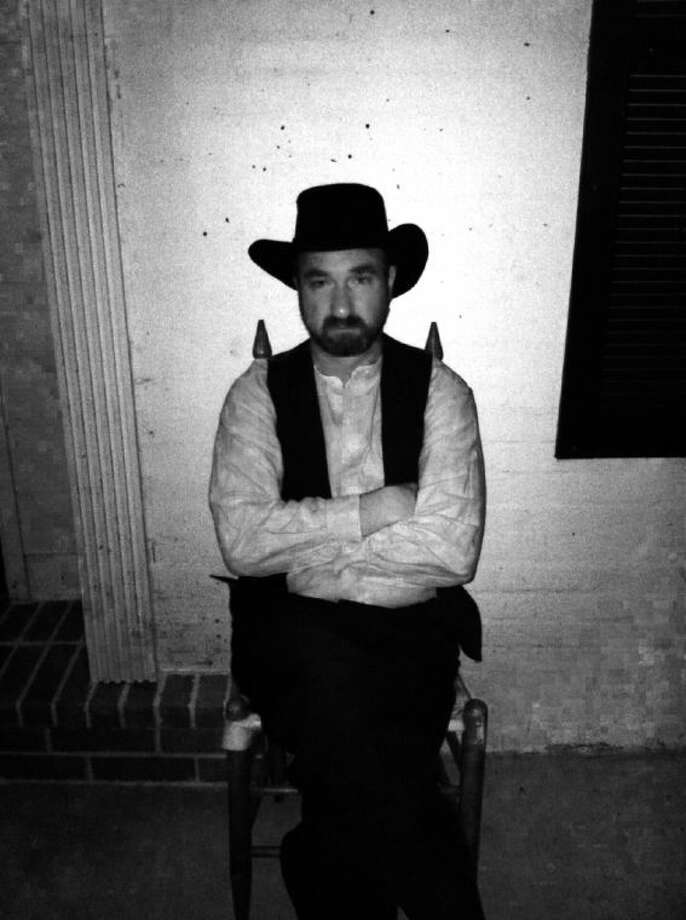 Cody Abshier, Liberty ISD superintendent, will portray Ephraim Jesse Crain. Photo: Submitted Photo