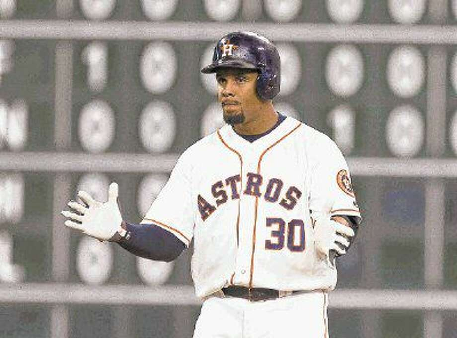 Former Houston Astros outfielder Carlos Gomez signed a minor league contract with the Texas Rangers on Saturday. Photo: Jason Fochtman
