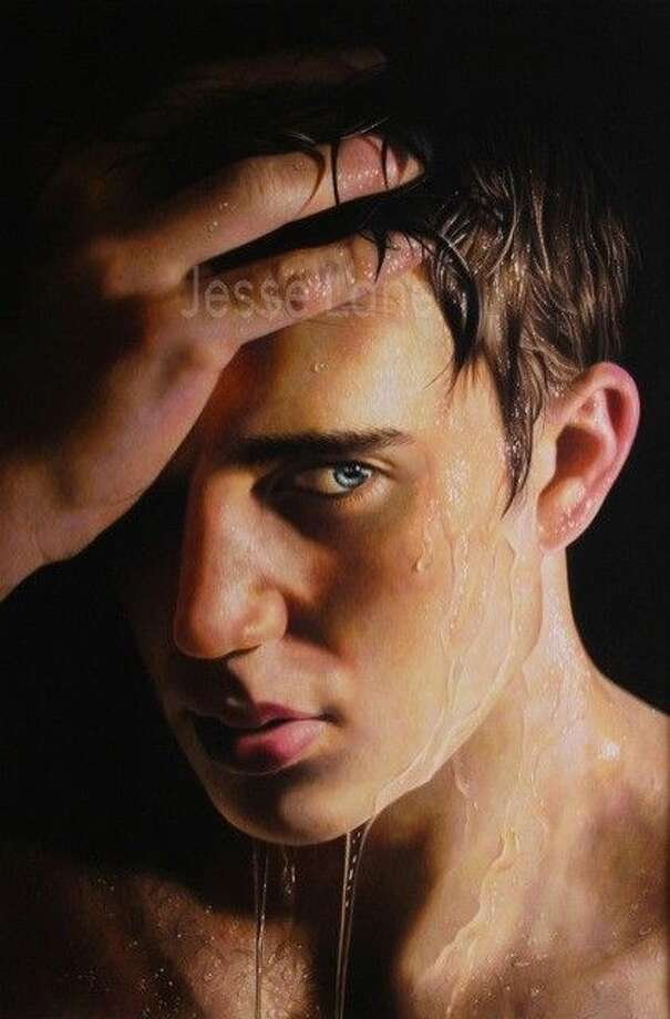 """The pictured art was the top winner at the Sept. 26 Conroe Art League competition. The colored pencil painting by Jesse Lane, titled, """"Resolve,"""" won Best of Show."""