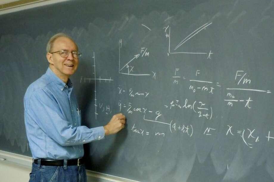 Retired NASA physicist Don Cooper.
