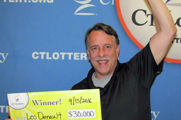 "Leo Denault,of New Milford, played his winning ""30X The Cash 3rd Edition"" ticket in front of a line of customers at a local retailer. After revealing his $30,000 prize, Denault's generosity prompted him to share his winnings with everyone behind him. However, before Denault paid for his fellow customers, he stated one requirement. ""Go out and do something nice for someone else today!"" ""We're all about helping others,"" Leo Denault said of his family while talking to Lottery officials. The happy winner plans on using his newfound money to ""pay it forward"" but first he'll treat his family to a vacation."