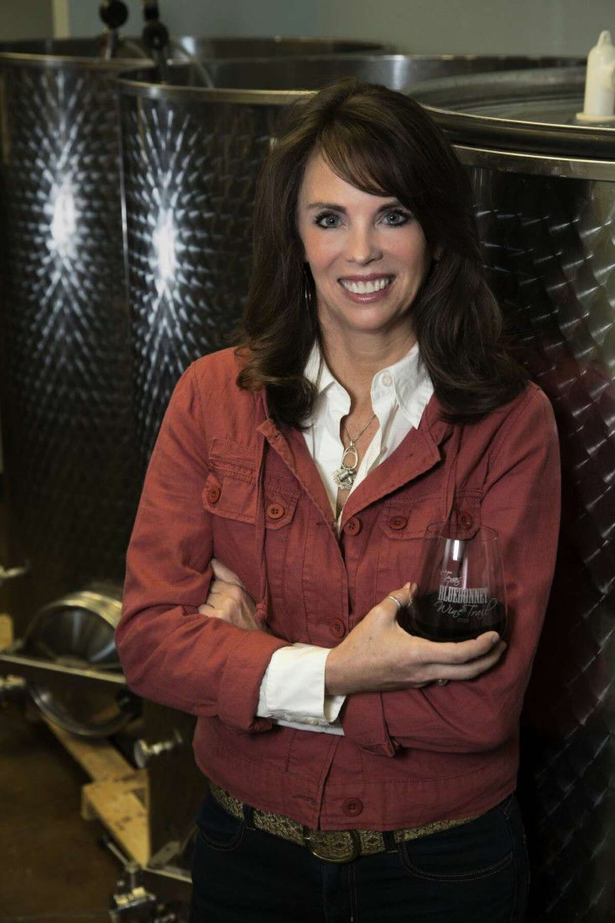 Wine maker and winery owner, Karla Nash, created the Cork This! Winery in Montgomery.