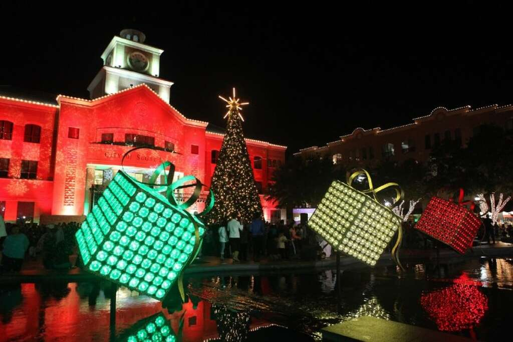 Image result for city of sugarland tree lighting