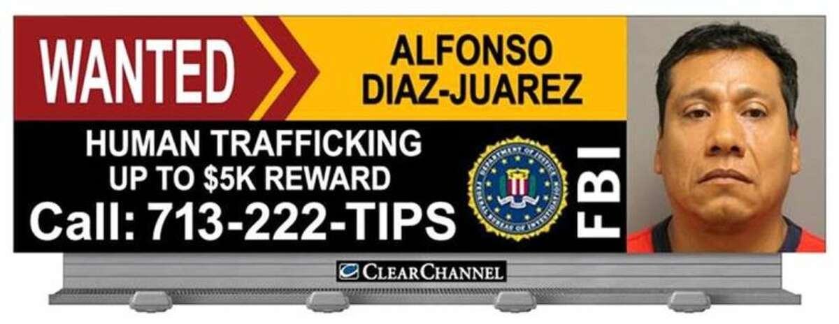 As a public service to the community, Clear Channel Outdoor has donated space and time on their digital billboards throughout the area to publicize fugitive Alfonso Diaz-Juarez, and advertise the reward.