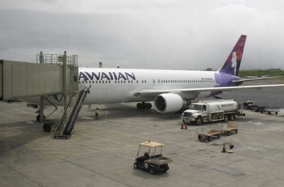 A file photo of a Hawaiian Airlines Flight in Kahului, Hawaii. Photo: Oskar Garcia