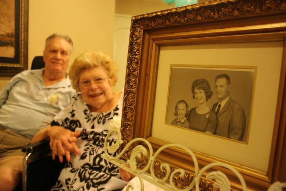Charles and Nancy Smith met when they were 15 and 16 years old, respectively, and have been married for 56 years. Now residents at Baywood Crossing in Pasadena, they are still the boy and girl next door. Photo: Y.C. OROZCO