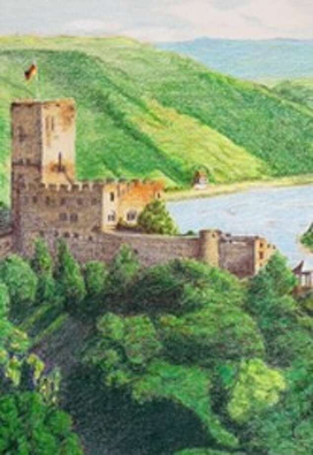 """Burg Gutenfels"" by Petra Kuder, artist Photo: Submitted Photo"