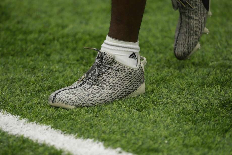 Houston Texans wide receiver DeAndre Hopkins wears a pair of cleats  designed by Kanye West this 59c759c84