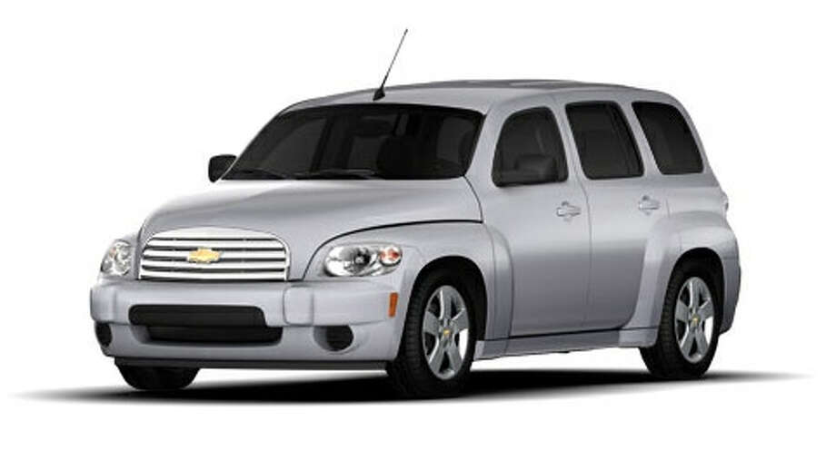 Asilver Chevrolet HHR, the type of vehicle used in a robbery and sexual assault in the Kingsbridge subdivision Monday, Oct. 17.Fort Bend County Crimes Stoppers, Inc. will pay a cash reward for information leading to the arrest and conviction of the two subjects involved.