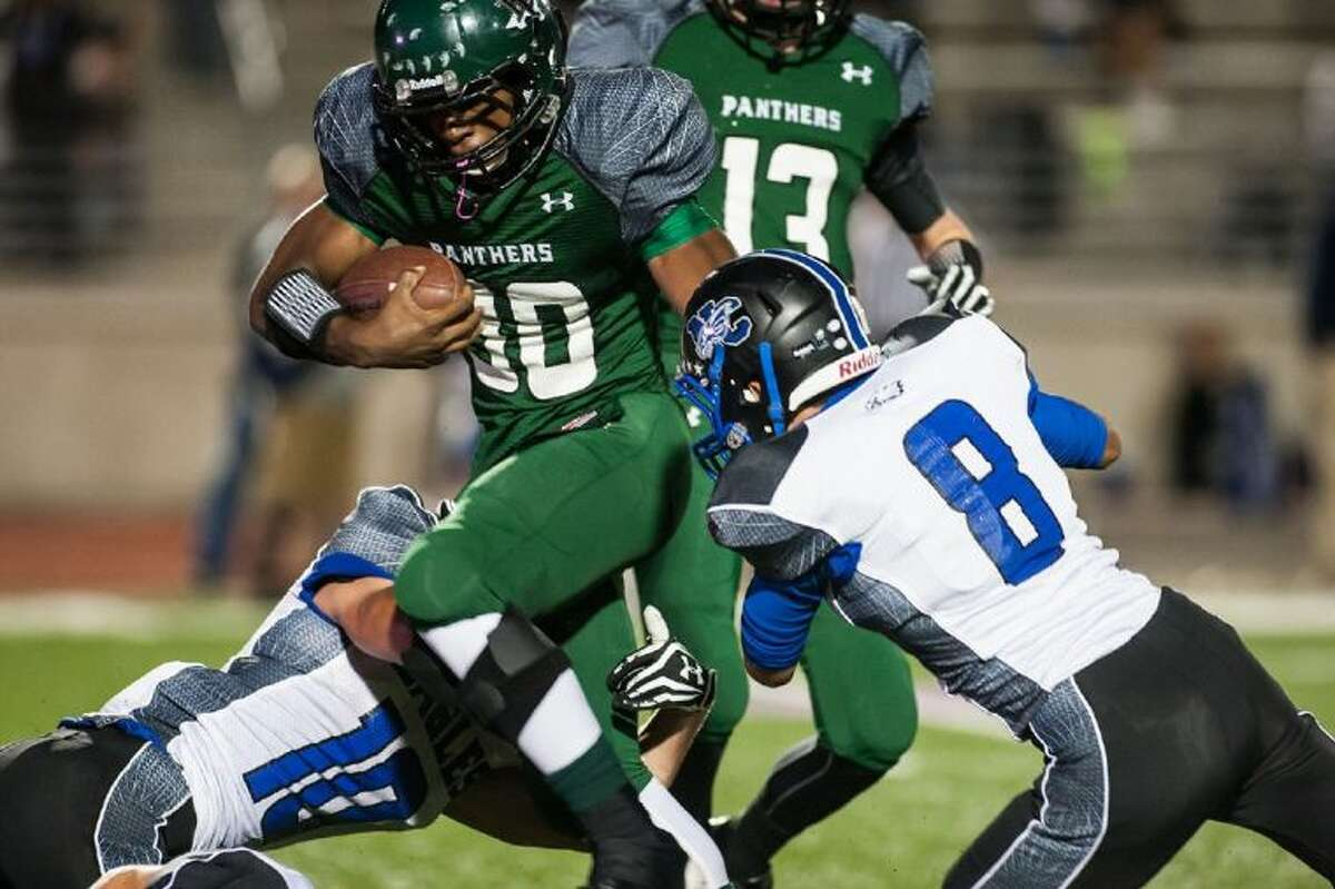 Kingwood Park's Carveon Bluiett was named second-team All-District 19-4A running back.