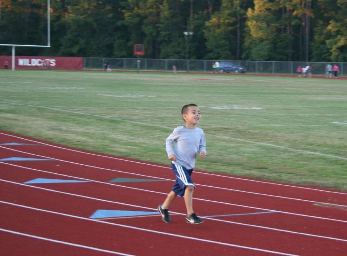 Several students from all three Splendora area elementary schools participated in Fantastic Family Fitness Night, which was held at the Splendora High School track on the evening of Oct. 22.