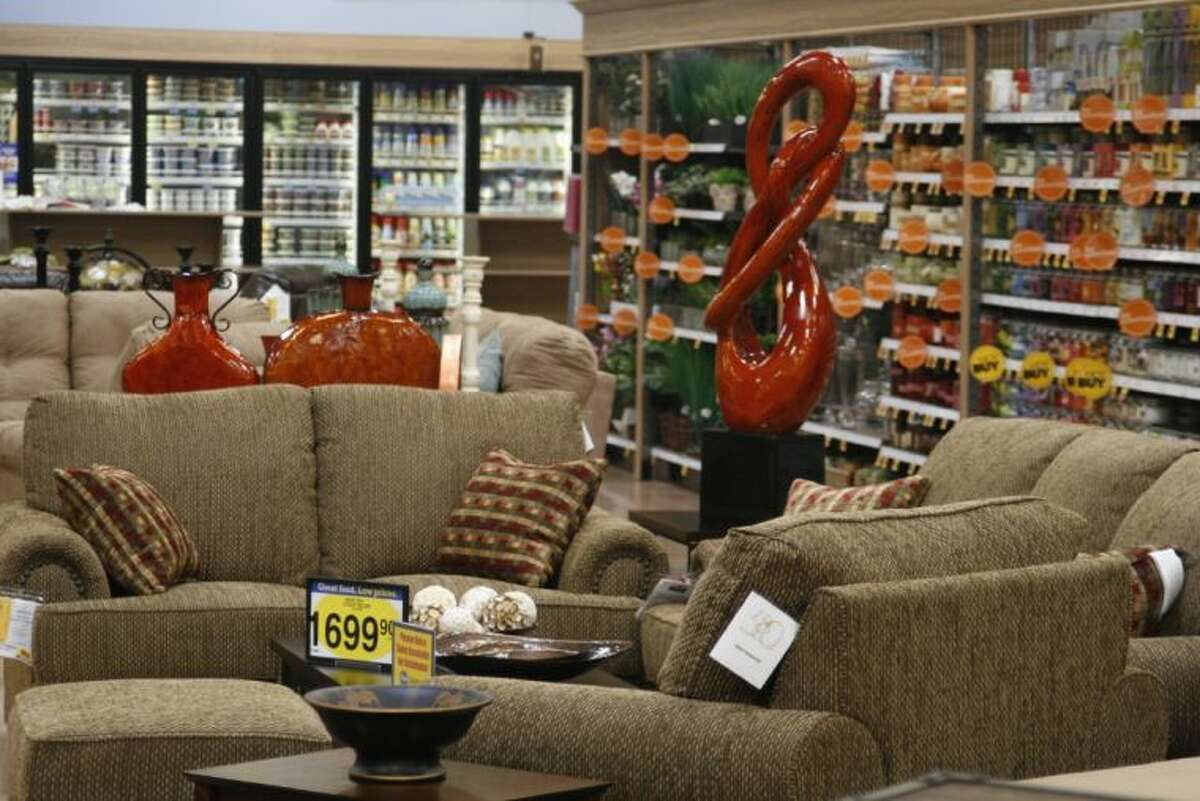 A section of the Kingwood Marketplace is devoted to furniture by Ashley Furniture.