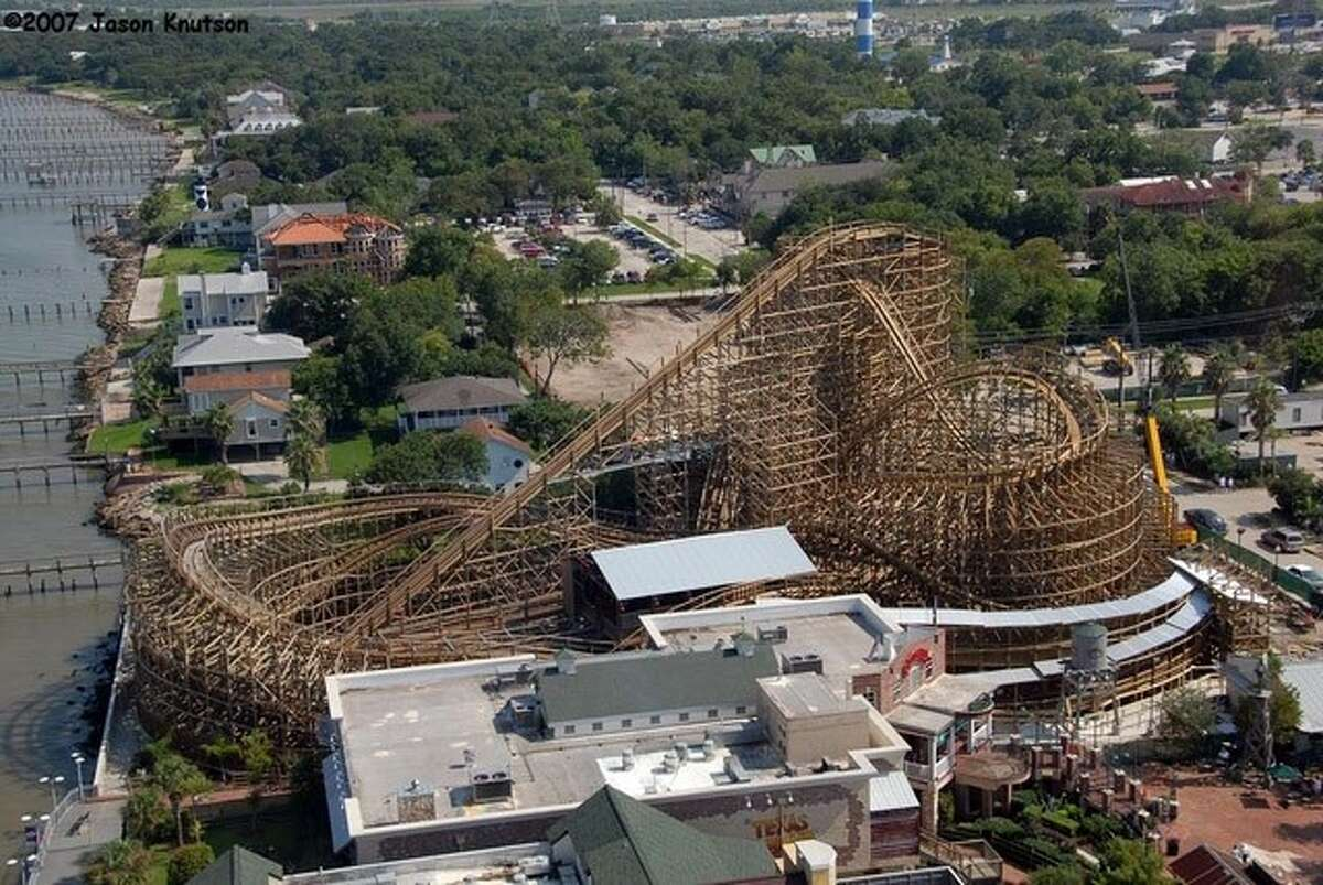 The Kemah Boardwalk is home to now one of two wooden roller coasters in the lone star state.