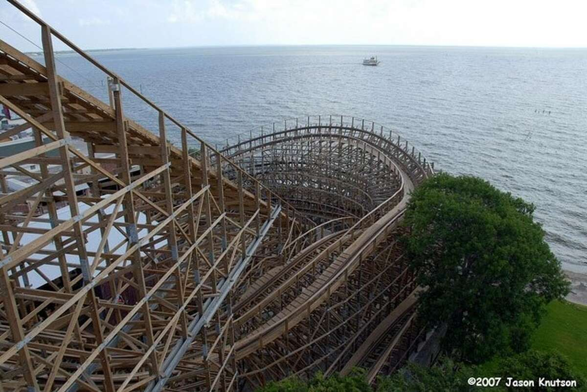 View from the top of the Boardwalk Bullet.