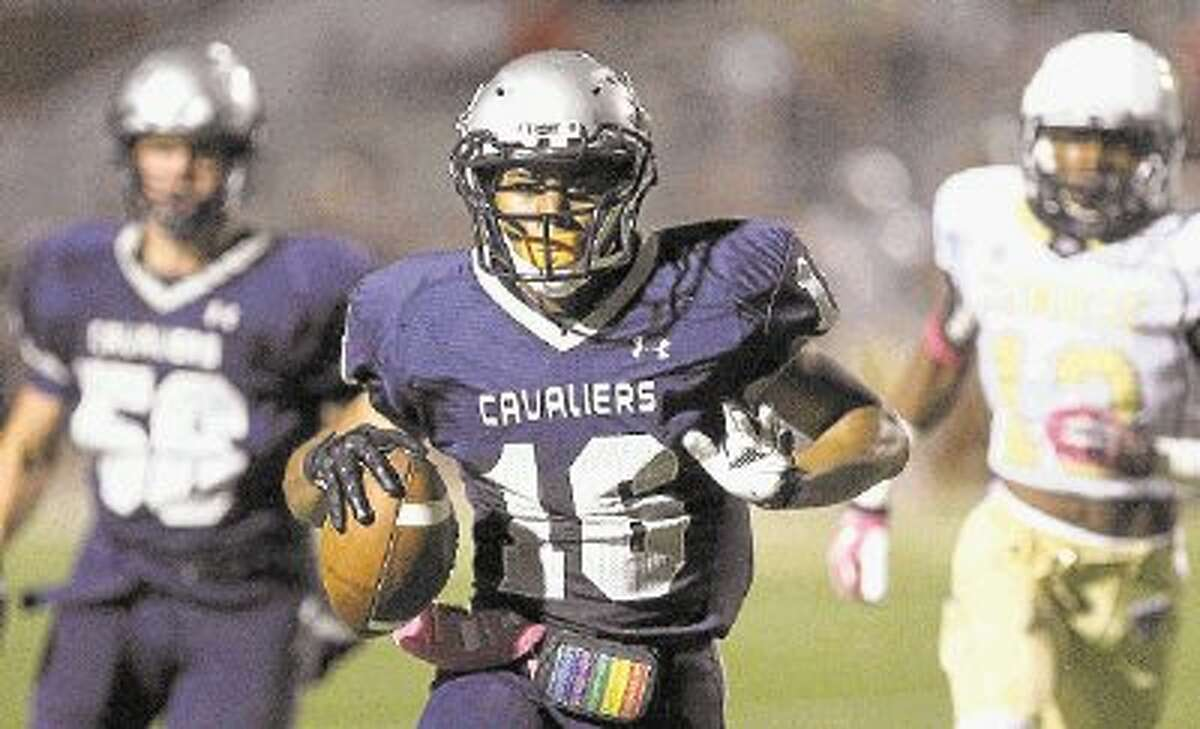 Running back Nicholas Black and the rest of the College Park offense will have to keep up with Lufkin on Friday night.
