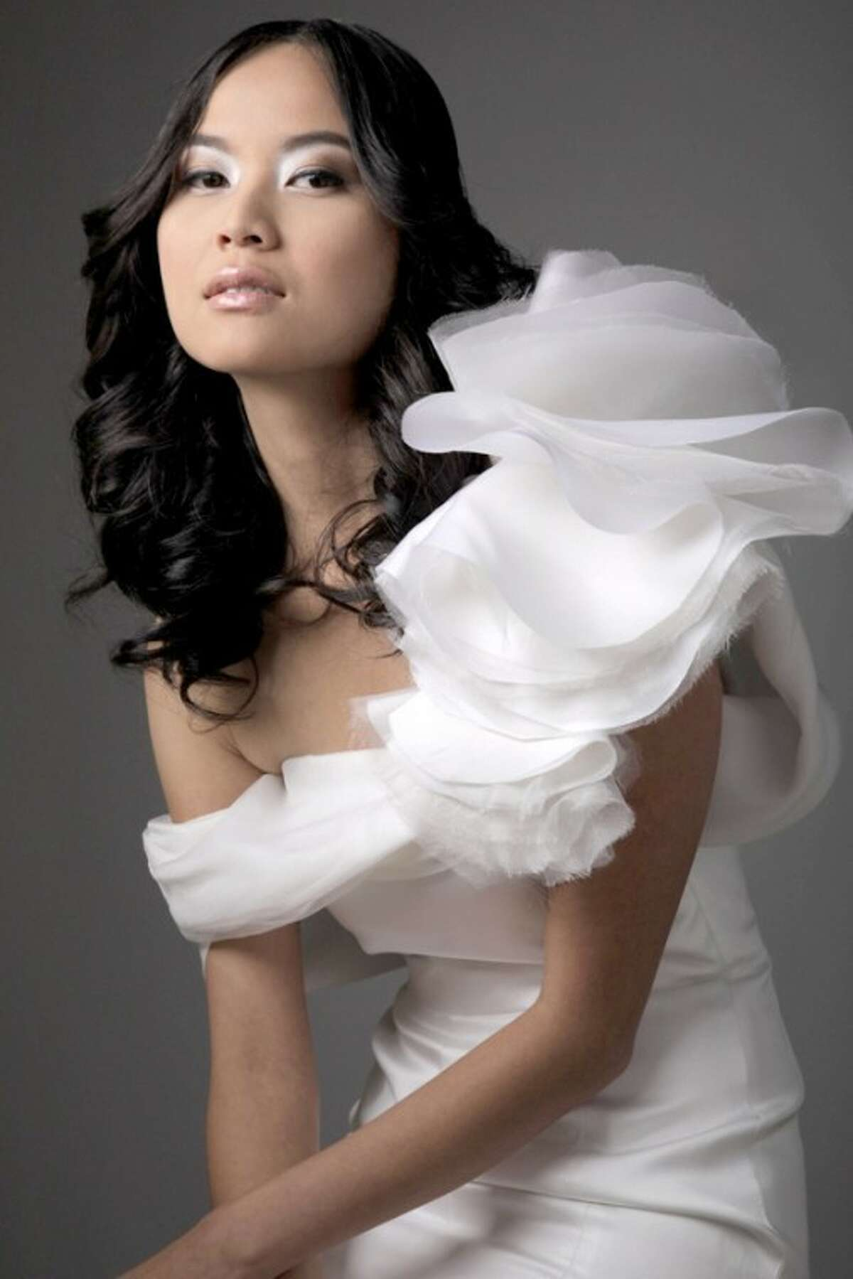 Fashions from the Chloe Dao wedding collection.