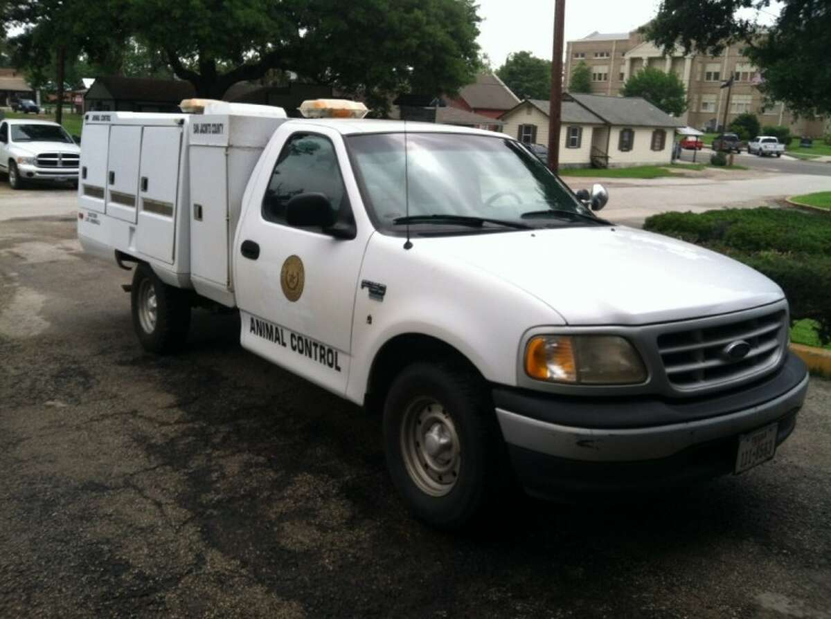 The San Jacinto County Animal Control Truck underwent a recent facelift. The truck was purchased in December 2011 with seizure funds from the sheriff's office.