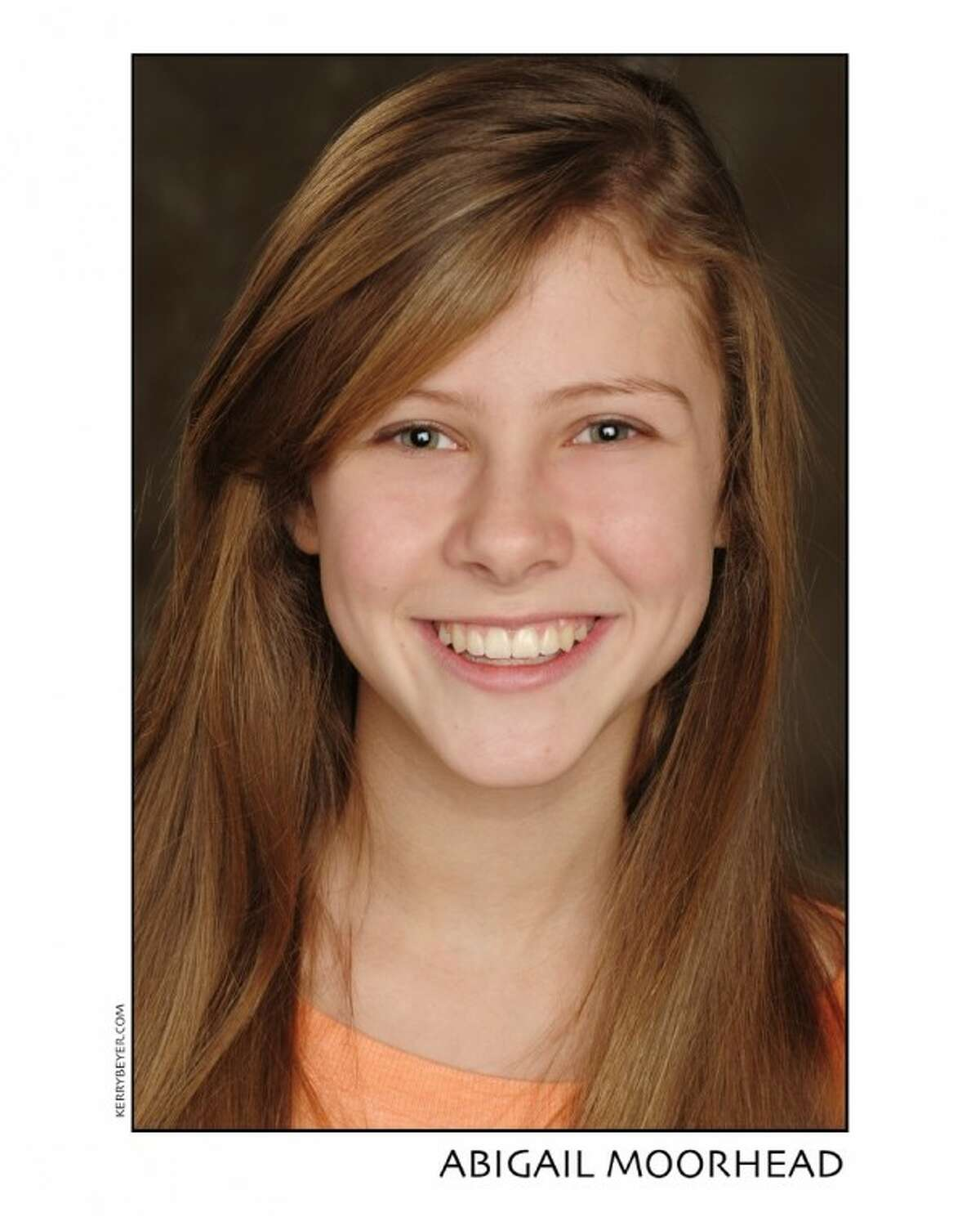 Abigail Moorhead, 13 years old from Memorial, will appear in the TUTS' production of