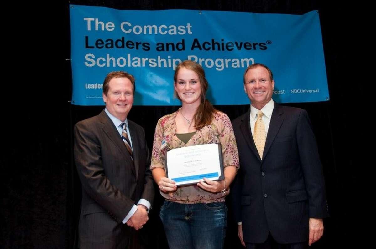 Lauren Fontenot of Alvin High School. Lauren plans to attend Texas A&M University.