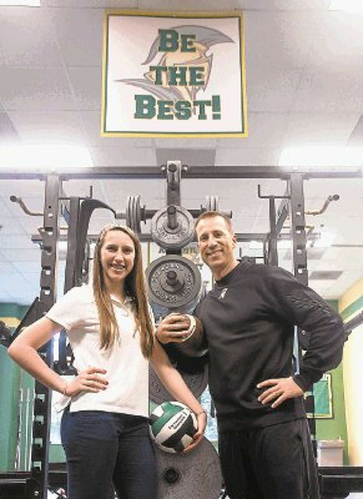 TWCA's Nate and Darcy Sanford have built a strong relationship over the years and continue to do so as they coach and compete in sports.