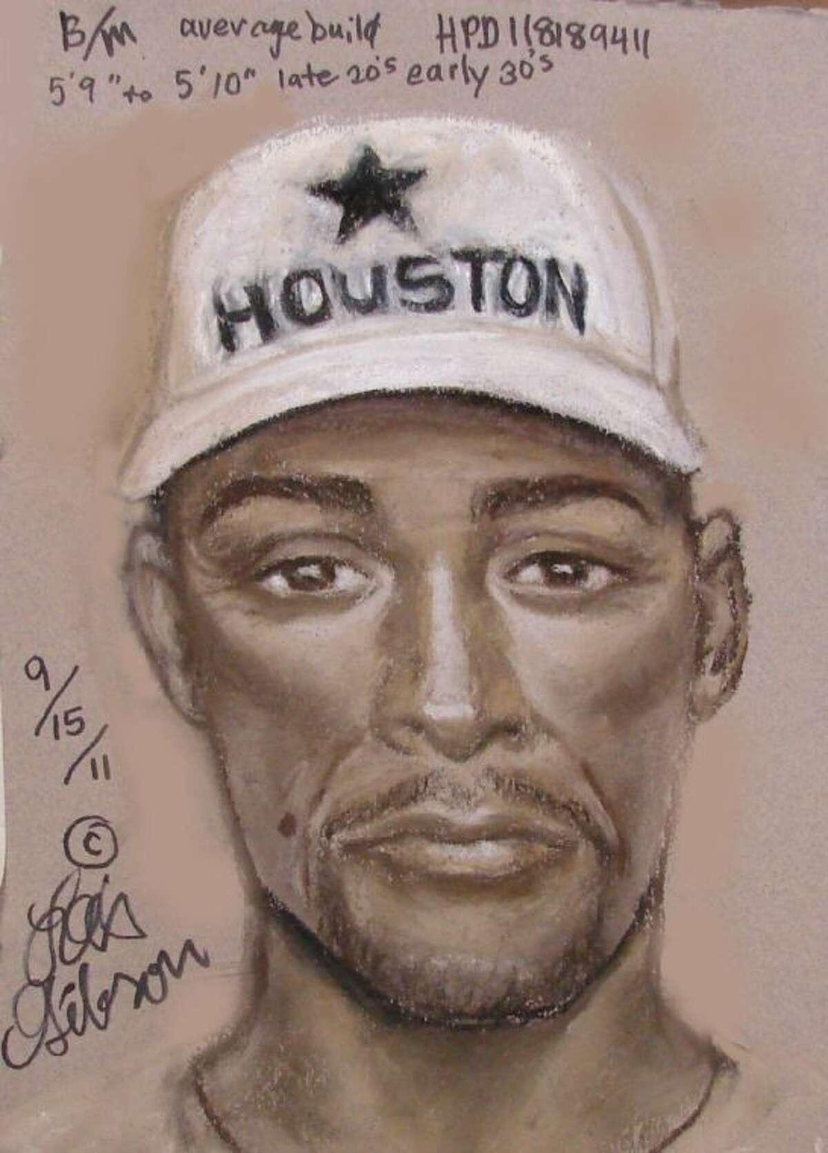 HPD sketch of suspect in 2011 murder