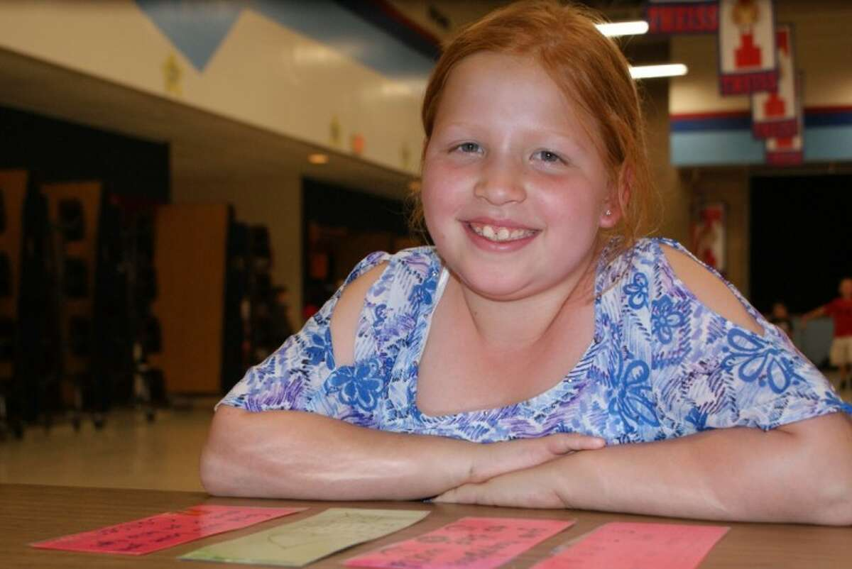 Emma Yurko, a second grade student at Theiss Elementary is inspiring others with her strength and kind spirit.
