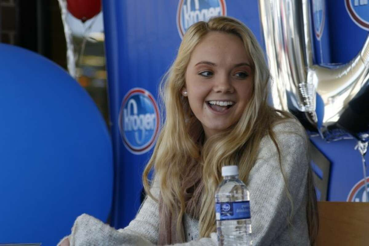 Cypress resident and winner of The Voice Season 4 Danielle Bradbery was on hand for a meet-and-greet at the new Kroger Marketplace in Kingwood Oct. 26, 2013.
