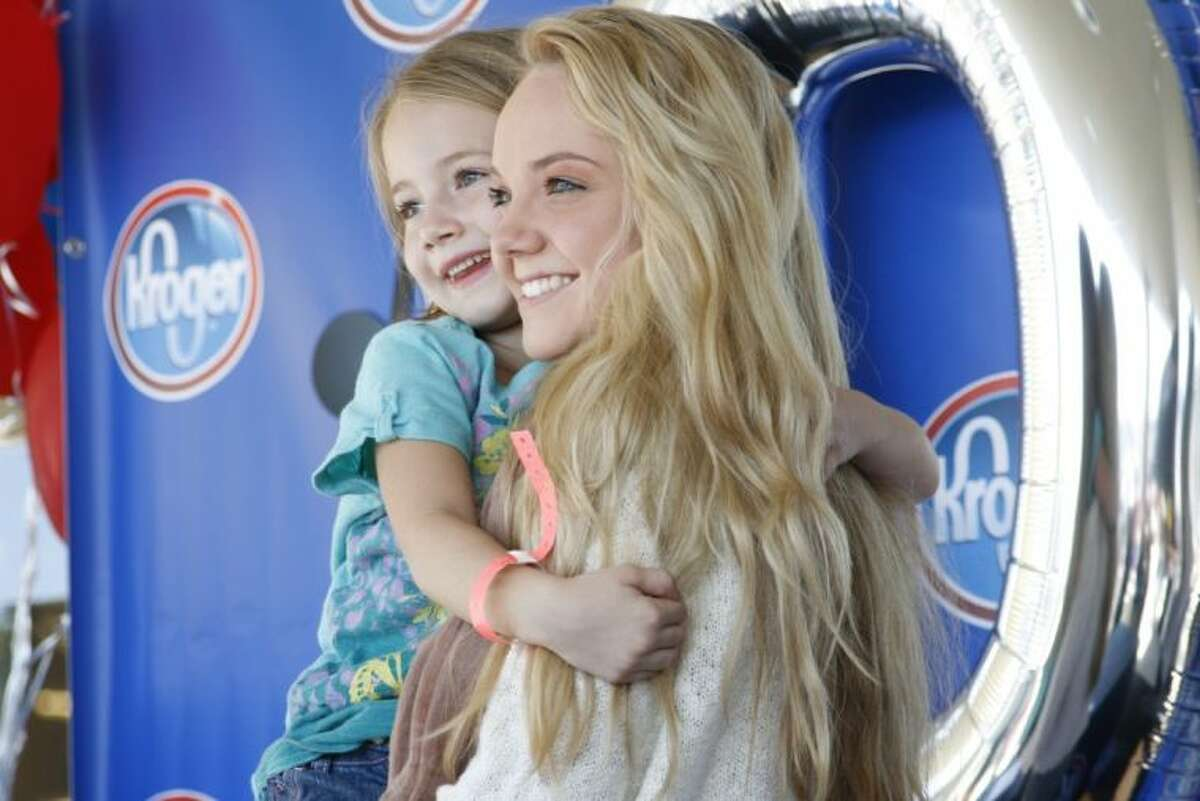 Kiylee Blackweel from New Caney had the chance to meet Cypress resident and winner of The Voice Season 4 Danielle Bradbery was on hand for a meet-and-greet at the new Kroger Marketplace in Kingwood Oct. 26, 2013.