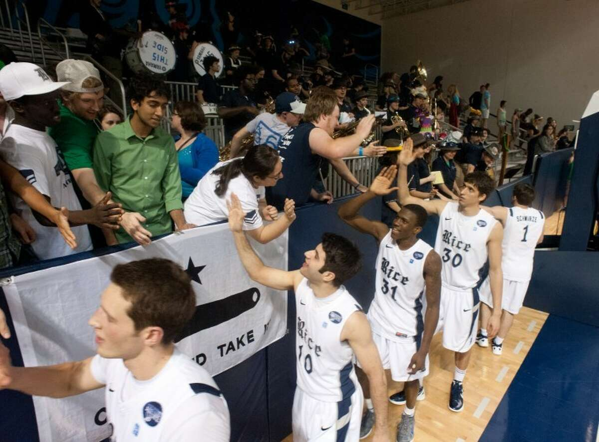 The Rice men's basketball team defeated Drake 74-68 in the CIT second round for its school-record second postseason victory.