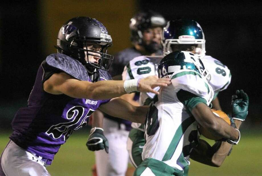 Willis sophomore linebacker Corbin Marett led his team in tackles and tackles for losses this season. Photo: Staff Photo By Jason Fochtman