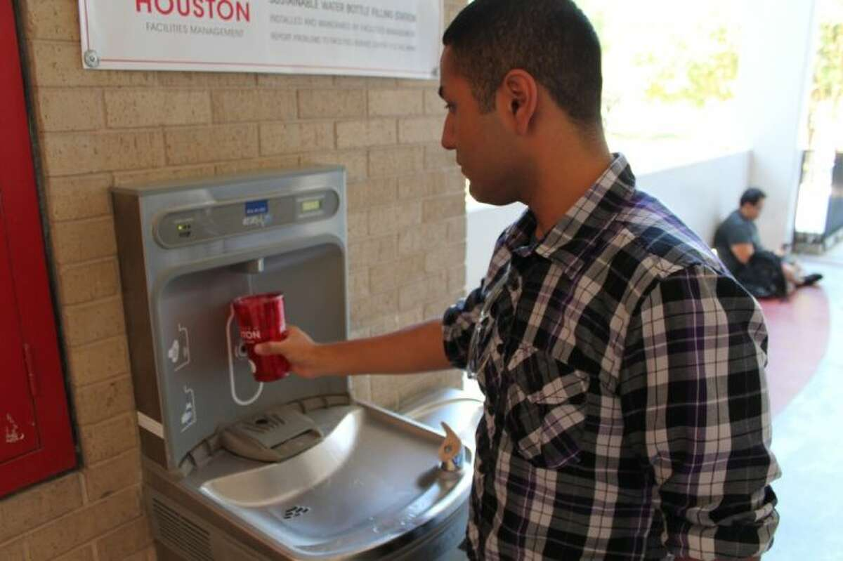 KHB cites its UH2O Water Filling Stations as one of the city's most notable efforts in reducing waste. This year, UH Facilities Management installed 21 filtered water filling stations in academic buildings and offices. Users can consistently refill water bottles rather than discarding them.