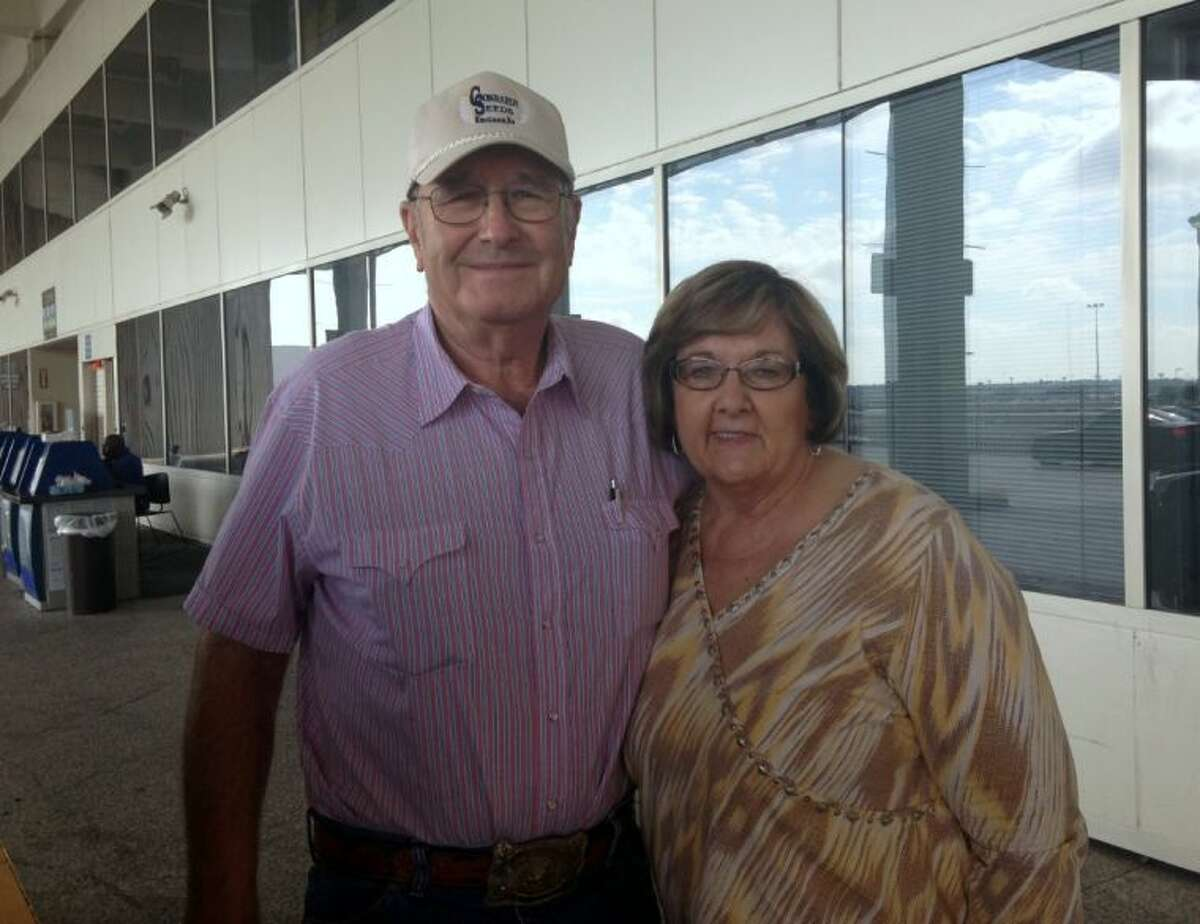 Lee Ann and Ivan Koblitz return back to their home in Kansas after one of Lee Ann's treatments for breast cancer.