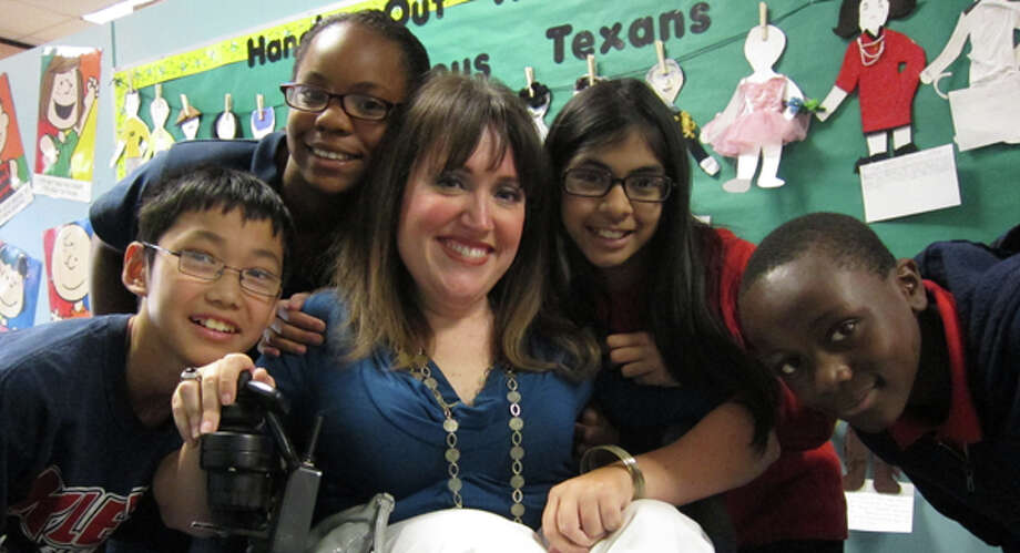 Angela Wrigglesworth embraces her students and has developed a distinct love for teaching. Photo: From KISD