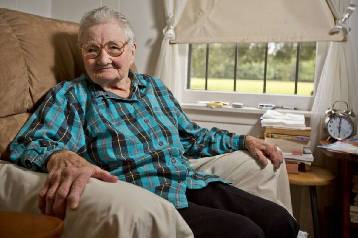 Tomball resident Gussie Rudel will turn will turn 98-years-old on Oct. 31, making her one of the longest living original residents of Tomball.