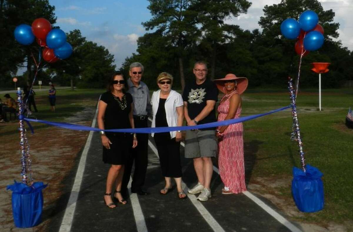 Eiland track was recently dedicated in October.
