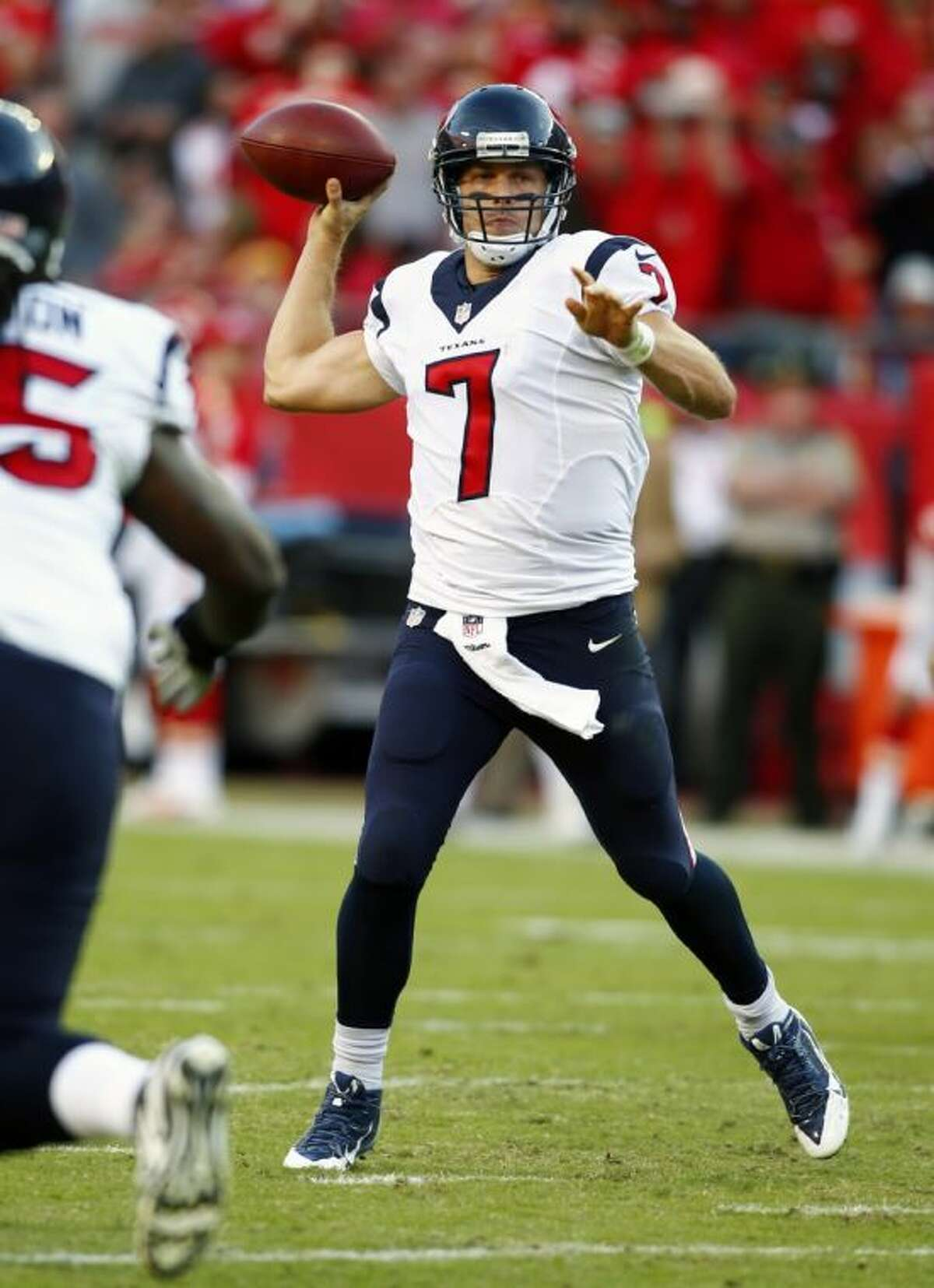 Case Keenum will start for the Houston Texans against Indianapolis on Sunday.