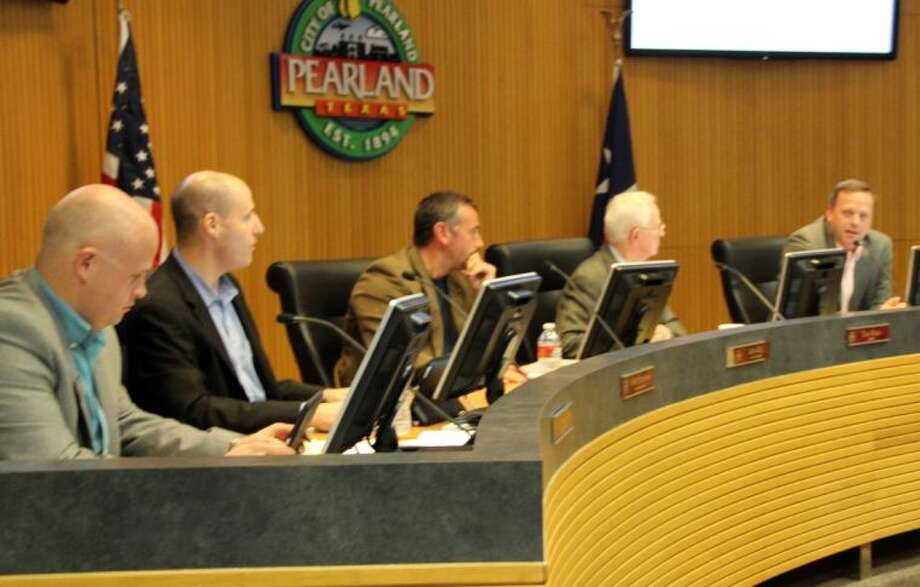 The Pearland City Council passed a resolution voicing their support for an uncoming Alvin Independent School District school bond election by unanimous vote at a council meeting held Monday (Oct. 24). Photo: KRISTI NIX