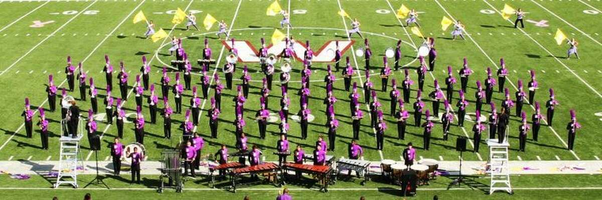 The Ridge Point High School Marching Band