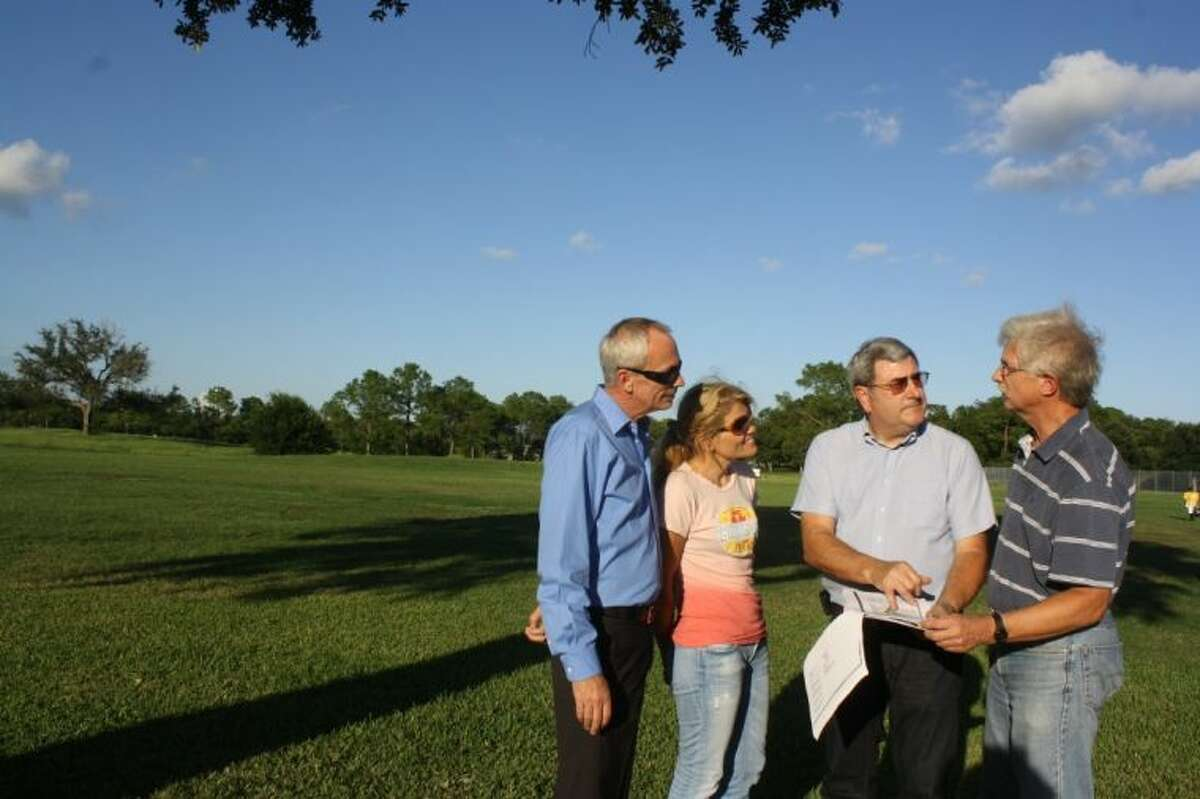 Since buying the property in 2011, The Clear Lake City Water Authority, backed by supporters lving near and on the property, is taking the next step in creating a water detention area and green space that will feature park amenities such as bike and hike trails and a haven for area wild life.