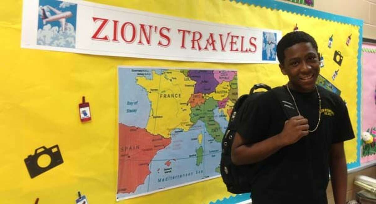 Zion Lenton prepared for a life changing journey.