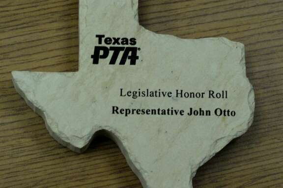 The Texas PTA created its Legislative Honor Roll two sessions ago. The PTA named State Rep. John Otto (R) to the roll for his work during the 2013 session.