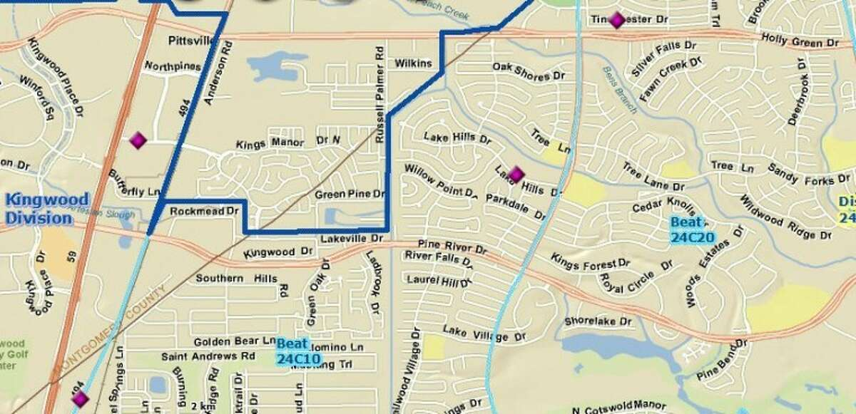 Burglaries in Kingwood as reported by HPD for the period of May 18-24.