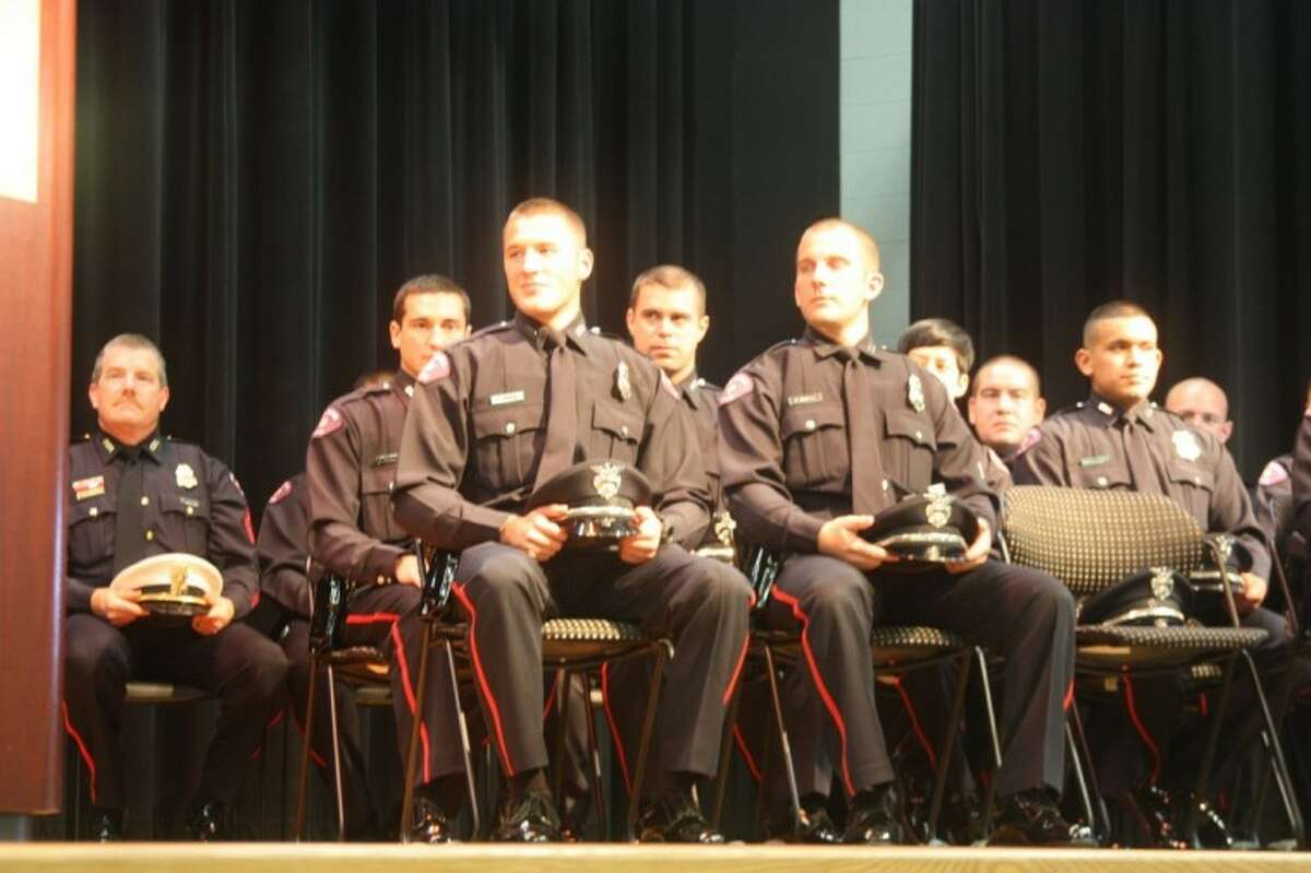 A Graduation Ceremony was held to honor the 65th Basic Academy Graduating Class of the Pasadena Police Department Friday (August 24) at the Texas Chiropractic College.